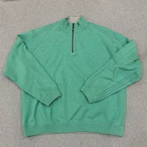 Tommy Bahama Sweaters - Tommy Bahama medium green half zip sweater